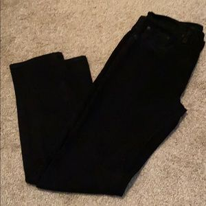 Arizona men's black jeans